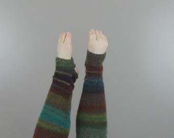 Knit yoga socks, leg warmers, barre leggings, stirrup socks, yoga socks knit, yoga leg warmers, toeless leg warmers, ballet leg warmers