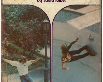 "Vintage Skateboard Magazine book laura tarbet 10"" x 7"" reproduction metal sign"