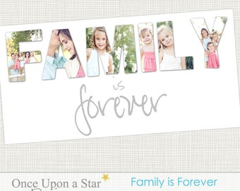 10x20 Family is Forever Storyboard - Photographer Template