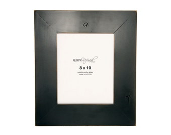 "8x10 Gallery 3"" picture frame - Black, Free Shipping"