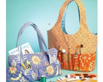 Kwik Sew Pattern K4149 Hobby Tote and Bag
