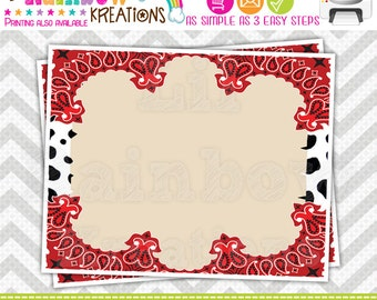 454 Food Labels: Cowgirl Jessie 2 Candy or Buffet Labels - Instant Downloadable File
