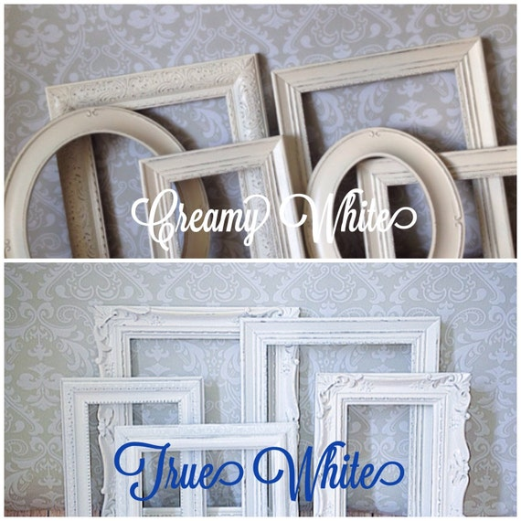 Shabby Chic PICTURE FRAMES // wedding // home // nursery //