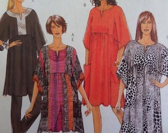 PULLOVER CAFTAN Pattern • Butterick 5361 • Miss XS-M • Boho Tunic • Kimono Sleeve Caftan • Sewing Pattern • Womens Pattern • WhiletheCatNaps