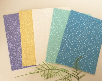 Embossed Card Stock