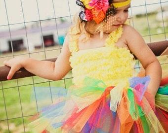 Trolls Tutu | Rainbow Tutu | Rainbow Tutu Skirt | Rainbow Tutu Baby | Rainbow Baby | Trolls Birthday | Baby Tutu | Birthday Tutu