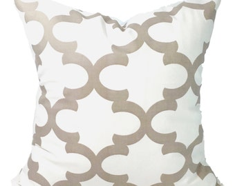 PILLOWS, Decorative Pillow, Throw Pillow, Accent Pillow, Euro Sham, Couch Pillow, Tan Pillow. Pillow Sham, Ecru, Cushion, Neutral, All Sizes