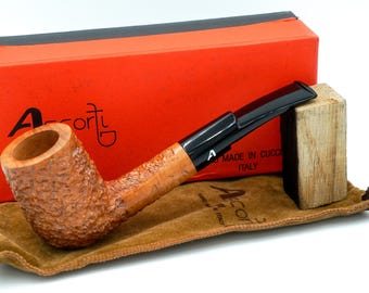 New Old Stock UNSMOKED - Ascorti Business - Hand Made - GORGEOUS! - SATXpipe