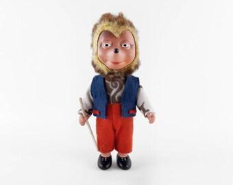 Mid Century Steiff Mecki Hedgehog Doll