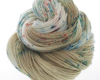 Australis 4-ply,  Hand Dyed Yarn, 4 ply, Yarn, Hand dyed, Superwash Merino  OPTIMUS