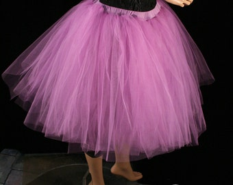 Tutu skirt Adult radiant orchid Romance poofy knee length dance bridal petticoat wedding bridesmaid -You Choose Size- Sisters Of the Moon