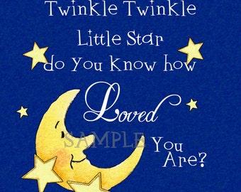 Gallery Wrap Canvas --Twinkle Twinkle Little Star