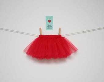 Red Tutu, Baby Girl Tutu, Valentines Day Tutu, Newborn Tutu, Valentines Day, Red, Baby Girl, Newborn, Girl, Tutu
