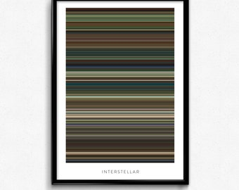 Interstellar - Movie Poster - The Colors Of Motion