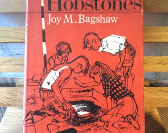 The Hobstones Joy M Bagshaw 1960s childrens book 1st edition 1966 hardback illustrated dust jacket Sunday School prize label adventure 544