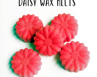 Daisy Wax Melts - Wax Melt - Soy Wax Melt - Daisy - Wax Melts Molds - Wax Tarts - Soy Wax Tarts - Candles - Home Fragrance - Scented Wax