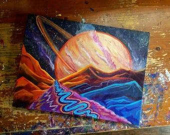 ORIGINAL - Saturn Setting