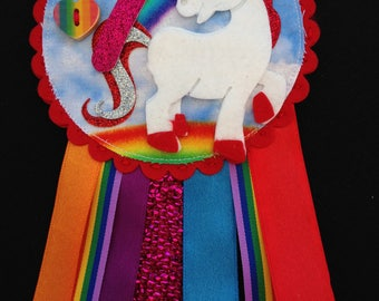 Birthday Rosettes - Unicorn and other designs