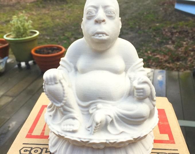 Howard Stern - Beetlejuice Zen Lotus - Fan Art Sculpture - Desert Sand