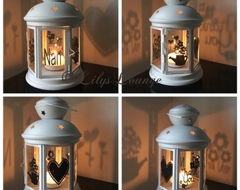 Nan Candle Lantern Mothers Day Birthday Gift