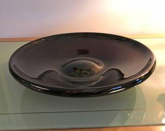 Deep Purple Glass Plate