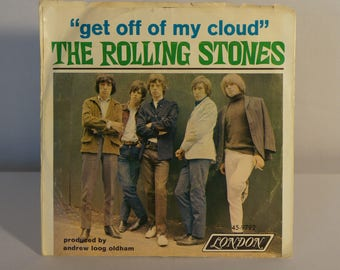 The Rolling Stones 45 Get off of My Cloud/I'm Free Cat. No. 45 LON 9792 with photosleeve 1965