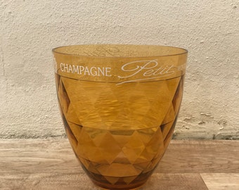 Vintage French Champagne French Ice Bucket Cooler Basin PETIT 0904183