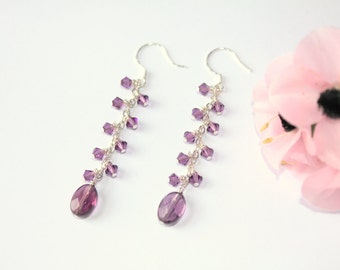 Purple Crystal Drops