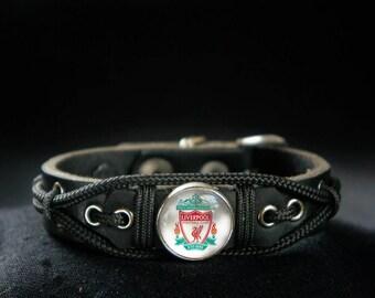 Liverpool Bracelet, Football Soccer Fan Gift