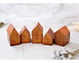 Handmade wooden houses, Wooden decoration, Wooden houses, Gift