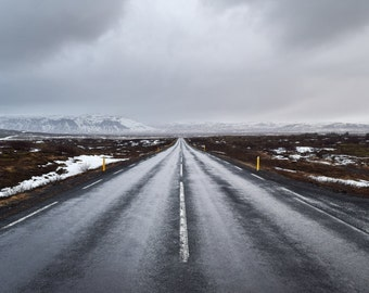 Iceland Ring Road Print - Landscape Photography  - Nature Photography - Travel Photography