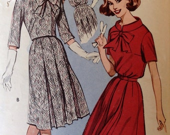 Vintage Butterick 9433 Dress  and Jacket - size 16