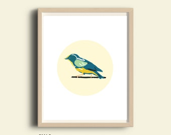 Bird prints, bird art print, bird printable, living room decor, office decor, bird lover gifts, animals print art, bird art, 8X10 print