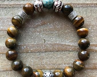 Men's Tigereye Bracelet