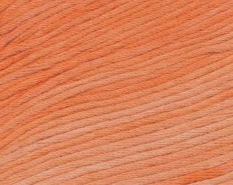 Starfish Ella Rae Sun Kissed yarn DK Weight 262 yards Orange 100% Cotton Yarn Color 05