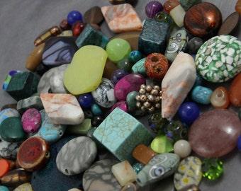 Large Assortment of Beads- Grab Bag