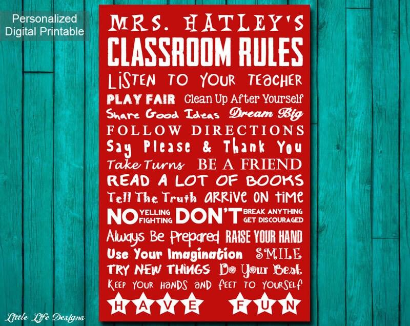 Classroom Decor Canada ~ Classroom decor teacher gift appreciation