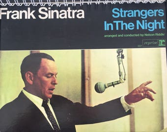 for the Frank Sinatra - Strangers In The Night fan!  Vinyl Album Cover Notebook