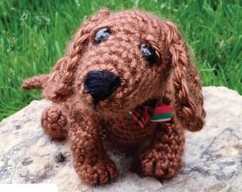 Dudley the Dachshund Crochet Pattern