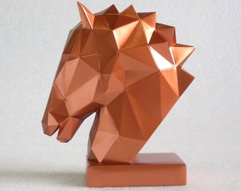Head Sculpture of Horse-Decorations