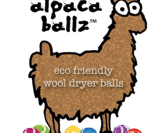 Wool Dryer Balls All Natural Handmade in USA Eco friendly locally sourced ethically raised wool