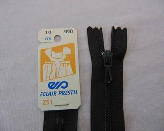 Zip closure, nylon, Walnut stain (Z51 990)