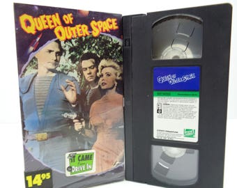 queen of outer space VHS Tape