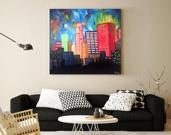 Custom Oil Painting - Architecture Series
