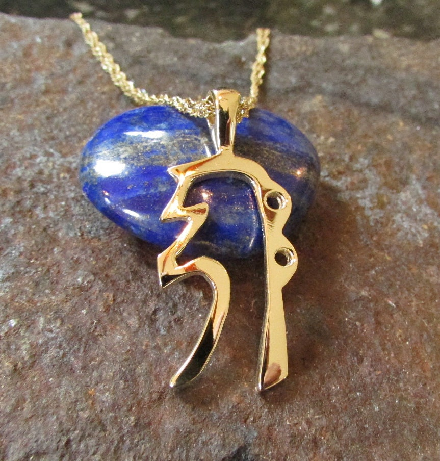 14k Gold Reiki Symbol Jewelry Sei Hei Ki 14k Gold Reiki