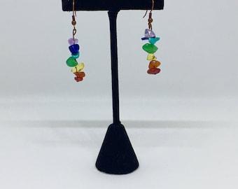 Drop Chakra Earrings