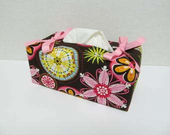Tissue Box Cover/Flower