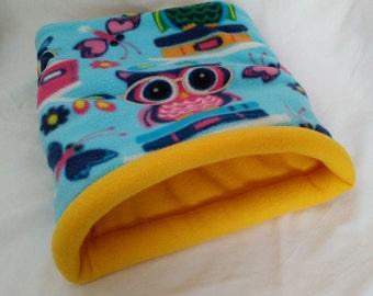 Snooze Sack in Smart Owl/Yellow