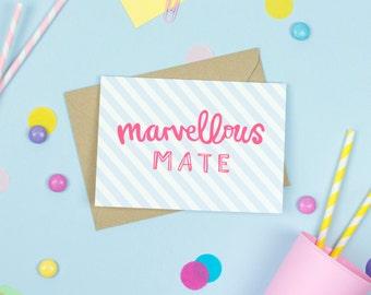 Marvellous Mate Card