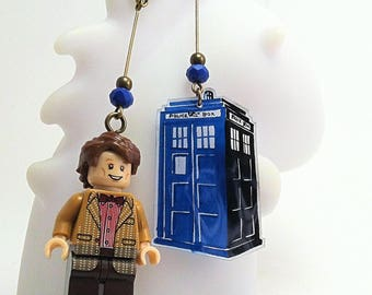 Doctor Who earrings
